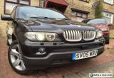 2005 (05) BMW X5 3.0d Sport AUTO FULL Black Leather SAT NAV 12months MoT, 2 Keys for Sale