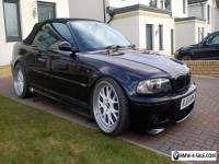 2004 BMW M3 BLACK CONVERTIBLE  MANUAL GEARBOX