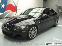 2012 BMW M3 COUPE 6-SPEED SUNROOF HEATED LEATHER