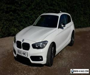 BMW Auto Sports 116d (65) *Pristine condition* for Sale