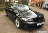 2009 BMW 1 Series Coupe 120d M Sport - 81k - Full Service History -Black Leather for Sale