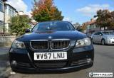 BMW 318D 3 Series Black 2007 Model 105K Genuine Milage Almost FSH 5 Owners for Sale