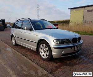 BMW E46 320d Touring silver  for Sale