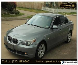 2007 BMW 5-Series 530i for Sale