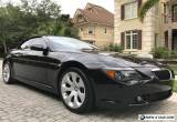 2006 BMW 6-Series Sport for Sale