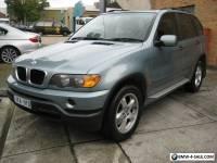 2002 BMW X5 3.0 MANUAL SUNROOF  REG 11/17 163,000 KLMS SOLD AS IS $6998 AS IS