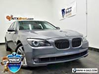 2011 BMW 7-Series 740Li 4dr Sedan