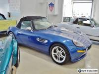2002 BMW Z8  TOPAZ BLUE - 14,000 MILES CONVERTIBLE- HARD TOP