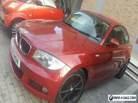 Red BMW 1 series coupe