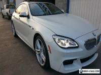 2016 BMW 6-Series Grand coupe