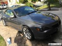 2005 BMW 6-Series 645 CI