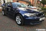 2010 60 BMW 1 Series E81 116D SE Blue Diesel Start/Stop FSH 3DR Bargain Mint for Sale