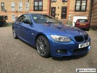 BMW 320d MSPORT AUTO INDIVIDUAL BMW PERFORMANCE ESTORIL BLUE  E92 E93 325 330