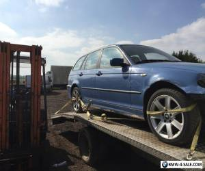 BMW E46 330 xd X DRIVE 2003 3 Series, LEFT HAND DRIVE EXPORT Spares or Repair for Sale