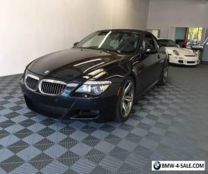 2008 BMW M6 Base 2dr Convertible for Sale