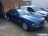 BMW 525d 2003 auto blue