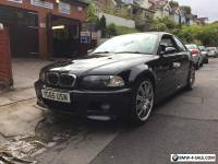2005 BMW E46 M3 BLACK MANUAL COUPE