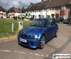 2004 BMW M3 BLUE for Sale