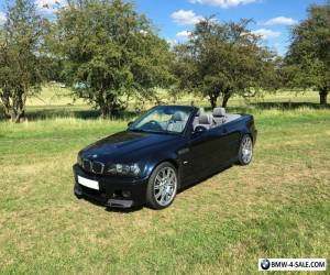 BMW E46 M3 Convertible 6 Speed Manual New MOT for Sale