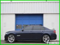 2012 BMW 7-Series 750i M-Sport MSport Cold Pkg Premium Nav Loaded