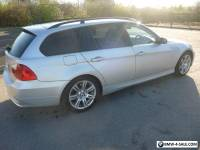 BMW 3 SERIES 320D E91 SE TOURING ESTATE 2007 SILVER 95K MILES **FSH 10 STAMPS**
