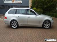 2006 BMW 525 Diesel Automatic Estate Immaculate FSH SILVER SAT NAV-OFFERS or PX?