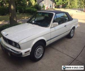 1988 BMW 3-Series Convertible for Sale