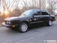 1988 BMW 5-Series 535 e28