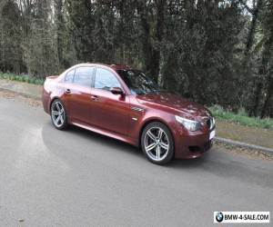2006 06 BMW M5 RED SMG - New MOT, 2 keys,103K miles, FSH + Receipts, great drive for Sale