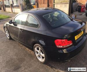 BMW 1 series coupe, sport in black 2011, xenon headlight and rear. only 79k  for Sale