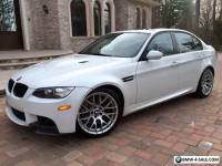 2011 BMW M3 COMPETITION PACKAGE M3 4dr Sedan w PREMIUM 3 PACKAGE & NAVIGATION