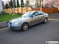 2008 BMW 5-Series 4 doors