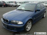 BMW 318 Saloon 2001 Navy blue