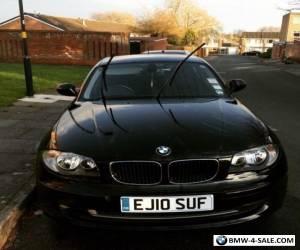 BMW 116d SE 5 door black 1 Series for Sale