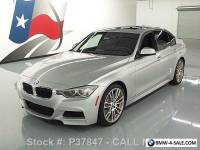 2013 BMW 3-Series 335I SEDAN M SPORT LINE TECH SUNROOF NAV