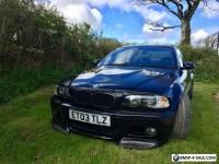 2003 BMW M3 BLACK