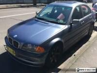 BMW e46 1999 Blue sedan in great condition