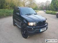 BMW X5 2003 3.0i Sport Black