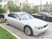 2003 BMW 7-Series Base Sedan 4-Door