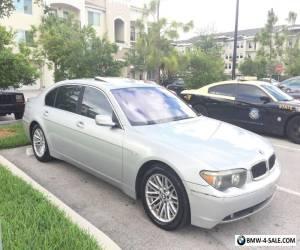 2003 BMW 7-Series Base Sedan 4-Door for Sale