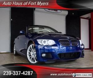 2013 BMW 3-Series Base Convertible 2-Door for Sale