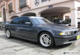 2001 BMW 7-Series M SPORT Package for Sale