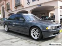 2001 BMW 7-Series M SPORT Package