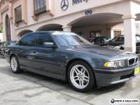 2001 BMW 7-Series M SPORT Package