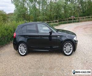 BMW 1 Series 118D 2008 M Sport 2.0 Diesel Black  for Sale
