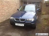 BMW X3 2006 Reg 2.0 Diesel 4WD,  excellent condition