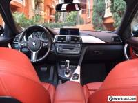 2014 BMW 3-Series Brushed Aluminum trim with Black high-gloss accent