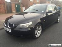 2004 04.BMW 520I SE. METALIC BLACK. BLACK LEATHER.LOW MILLAGE. ABSOLUTE BARGAIN!