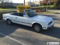 1989 BMW 3-Series Base Convertible 2-Door
