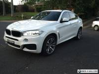 2015 BMW X6 30D - DIESEL - PURCHASED BRAND NEW FROM TRIVETTE - AMAZING BARGAIN